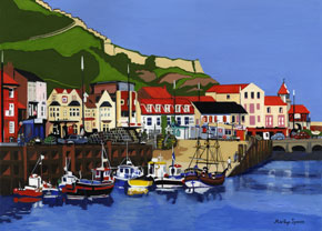 Hispaniola and Friends - Scarborough on marilynspenceartist.co.uk